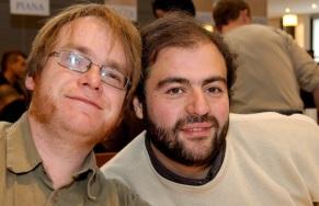 Tarek et Lionel Chouin