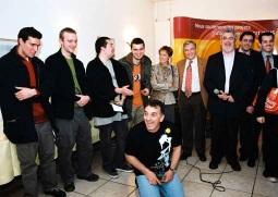 Ivan reçoit un prix au salon de Moulins