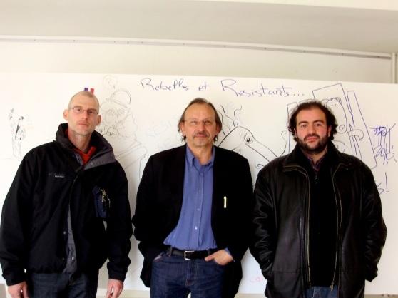 Didier Daeninckx, Tarek et Bruno Marivain