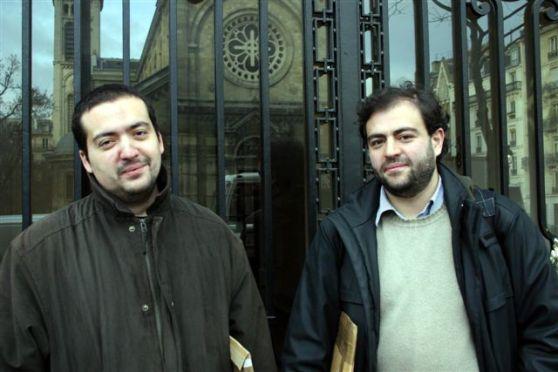 Tarek et Ivan Gomez Montero