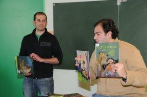 Tarek et Batist à Moulins