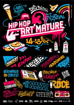Tarek au festival Hip Hop Art'mature III du 14 au 18 fev. 2012