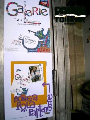 Galerie éphémère // Tarek