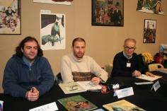 Tarek , Aurélien Morinière et Sergio Toppi, Grenoble 2008