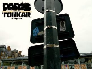 Tarek's artwork in Rennes