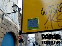 Collage à Rennes