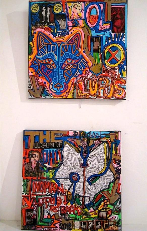 Tarek and Pioc paintings