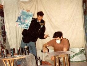 Tarek et Defun en 1991