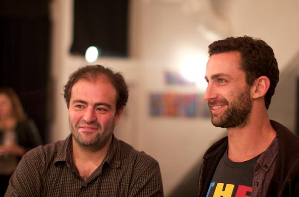 Tarek et Ripo, peintre américain2012 © Lulu Love