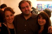 Tarek et des membres de l'asso Juxtapoz 2012 © Lulu Love