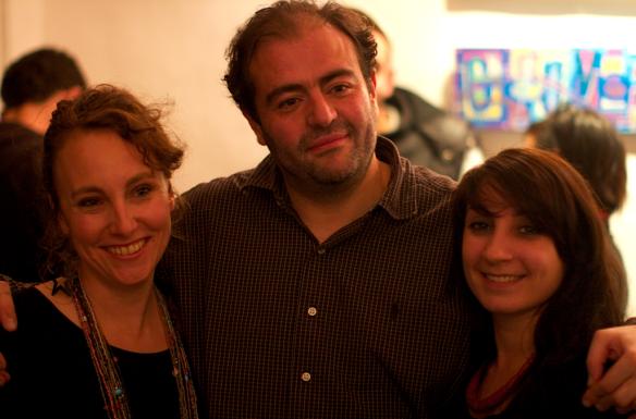 Tarek et des membres de l'asso Juxtapoz2012 © Lulu Love