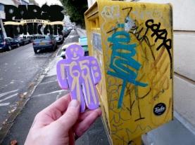 Collage à Ivry sur Seine