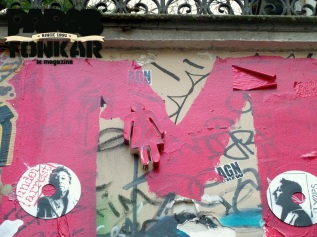 Collage rue de Verneuil
