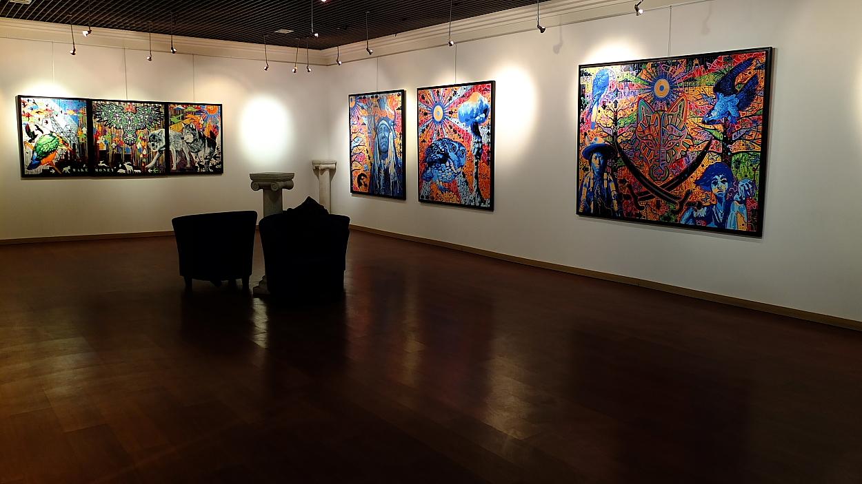 D Exhibition : Exposition de pioc ppc wolf song night underground