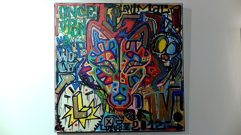 Tarek and Pioc painting : Lupus V