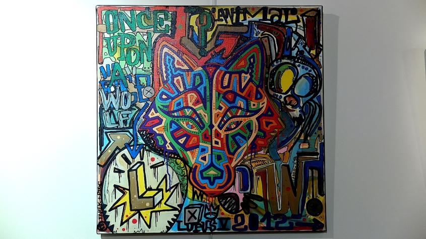 Tarek and Pioc painting : Lupus V