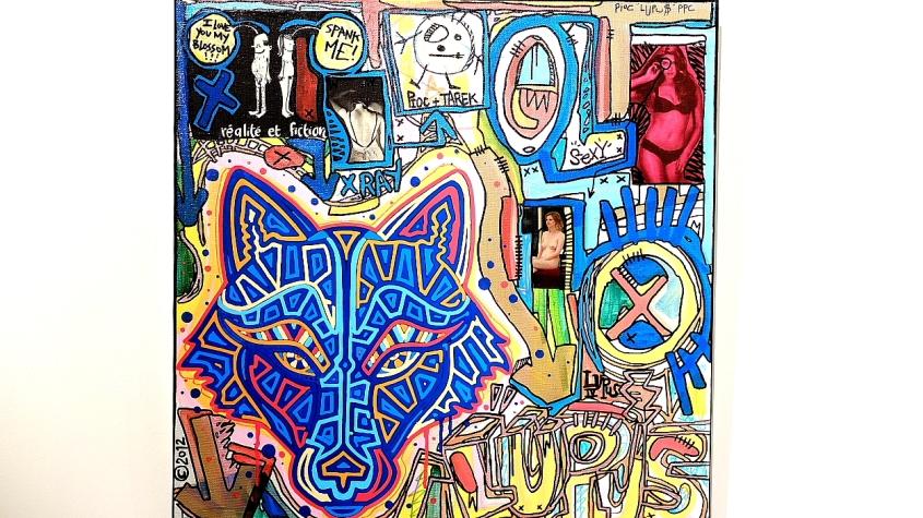 Tarek and Pioc painting : Lupus IV