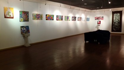 Galerie d'art : exposition collective Wolf song night