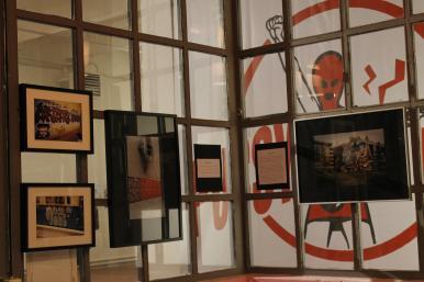 Exposition à la MeetFactory de Prague