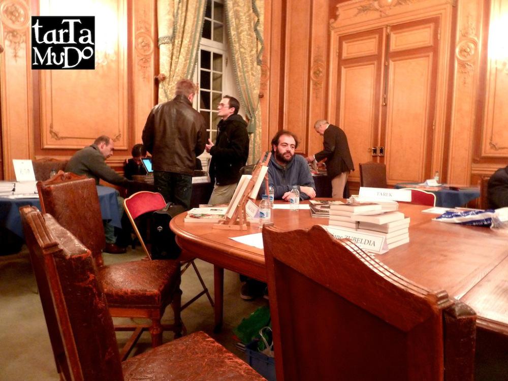 Tarek au salon du livre des Invalides | Les éditions Tartamudo