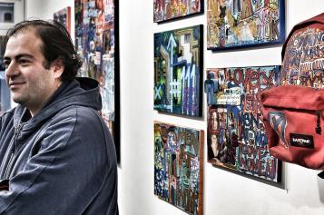 Tarek à la galerie Collectie