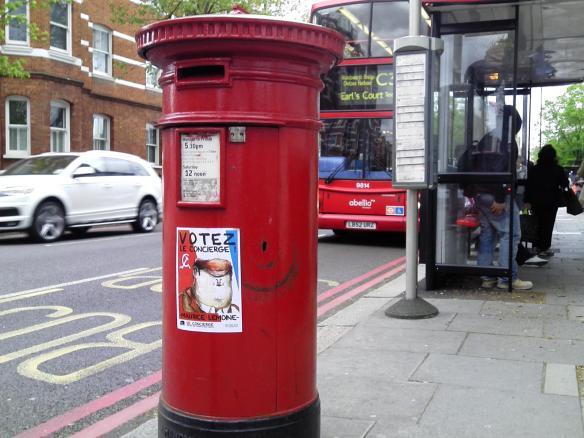 Le concierge à Londres