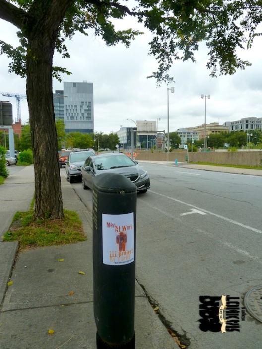 Stickers à Montréal