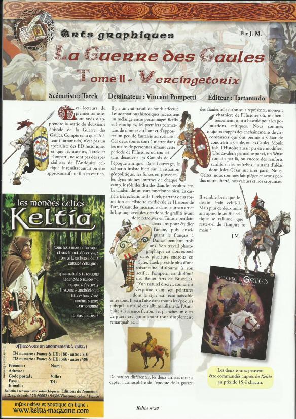 KELTIA magazine LA GUERRE DES GAULES 2-2