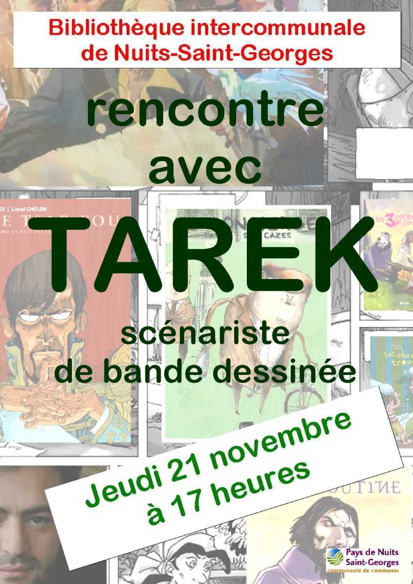 TAREK venue 21 nov 2013