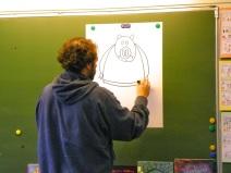 Tarek dessine