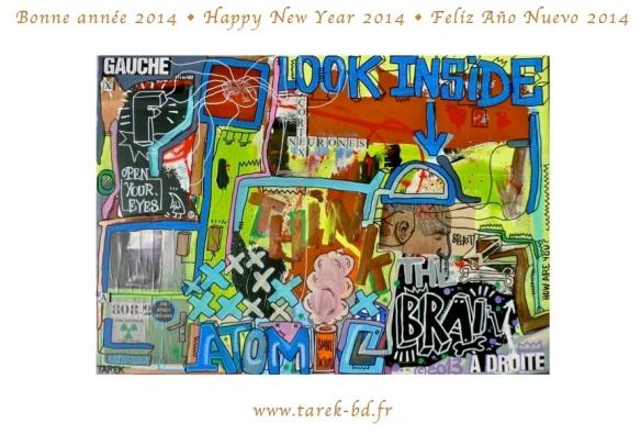 Bonne année 2014 • Happy New Year 2014 • Feliz Año Nuevo 2014