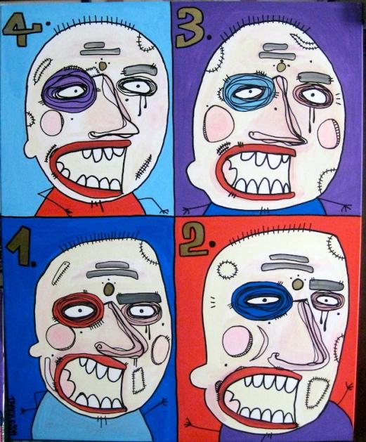 Warhole Heads