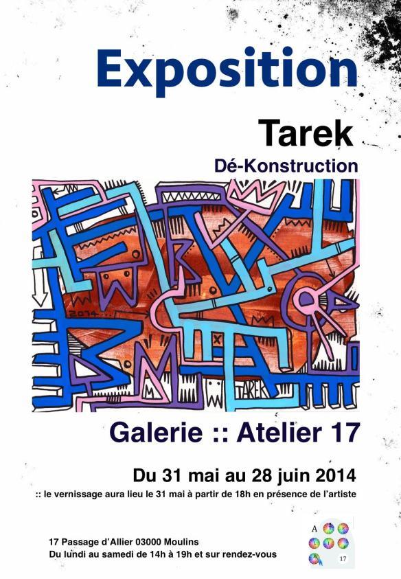 Affiche expo Moulins