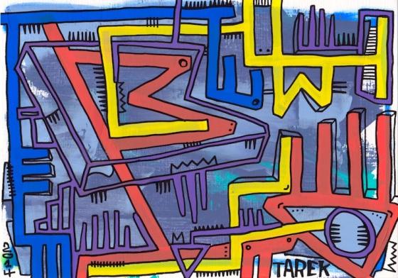 Dessin A4 de Tarek