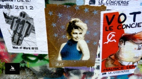 Collage à Paris