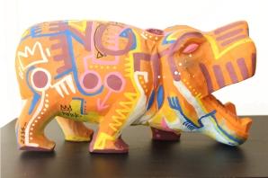 Hippo en bois
