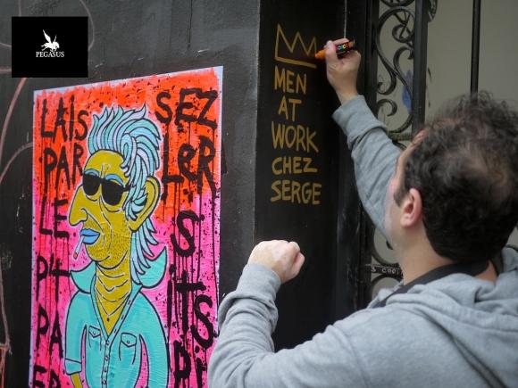 Collage à Paris