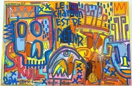 Tarek à la galerie 203