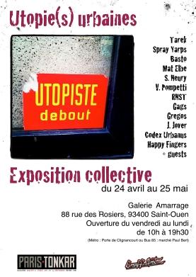 Exposition Utopie(s) Urbaines