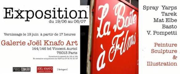 Exposition Galerie Knafo