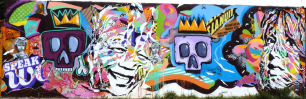 Mur de Jo di Bona et Tarek