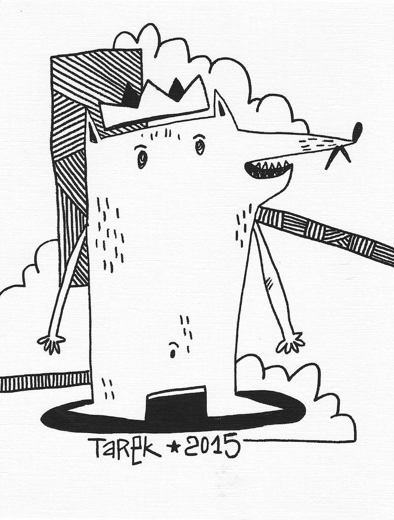 Tarek petit dessin 3