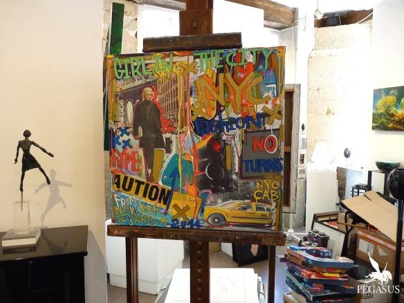 Peintures toujours disponibles à la galerie Philippe Gelot, Paris
