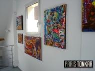 Exposition à la galerie Knafo