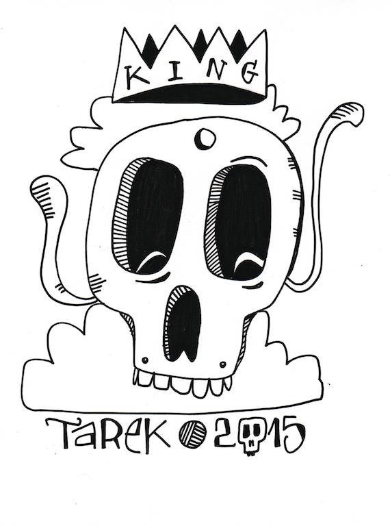 Dessin de Tarek