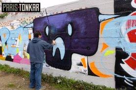 Mur de Tarek et Basto