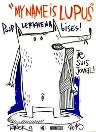 Dessins de Tarek réalisés à Rennes