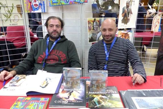 Tarek et Vincent Pompetti
