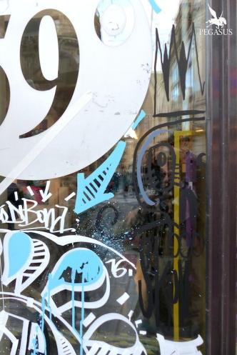Live painting au 59 Rivoli