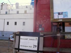 Bateau culturel MS Stubnitz à Hambourg